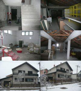 210m2 kuca + 350 m2 poslovno prostor, garaza, plac 4,70 ari, busije